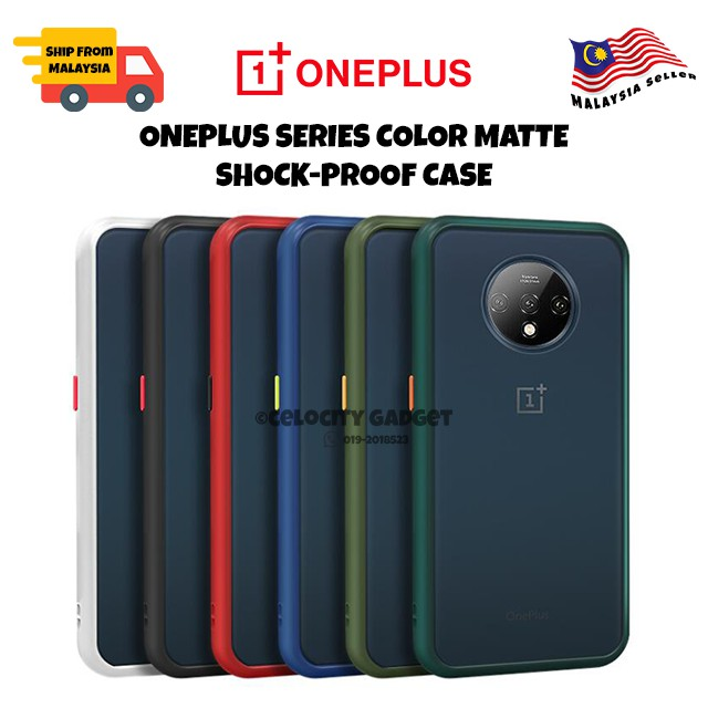 OnePlus Nord Color Matte Shockproof Case
