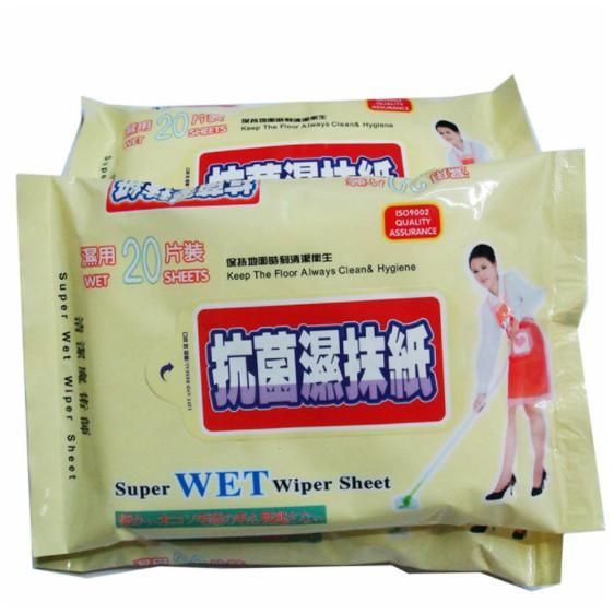 Antibacterial wipes/Super WET wipes sheet/wet tissue 💎Ready Stock💎抗菌湿抹纸/ wipes sheet Best Quality 20cm x 29cm