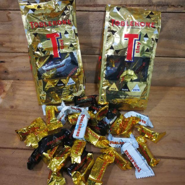Toblerone T Mini Bags 34 Pcs 272g