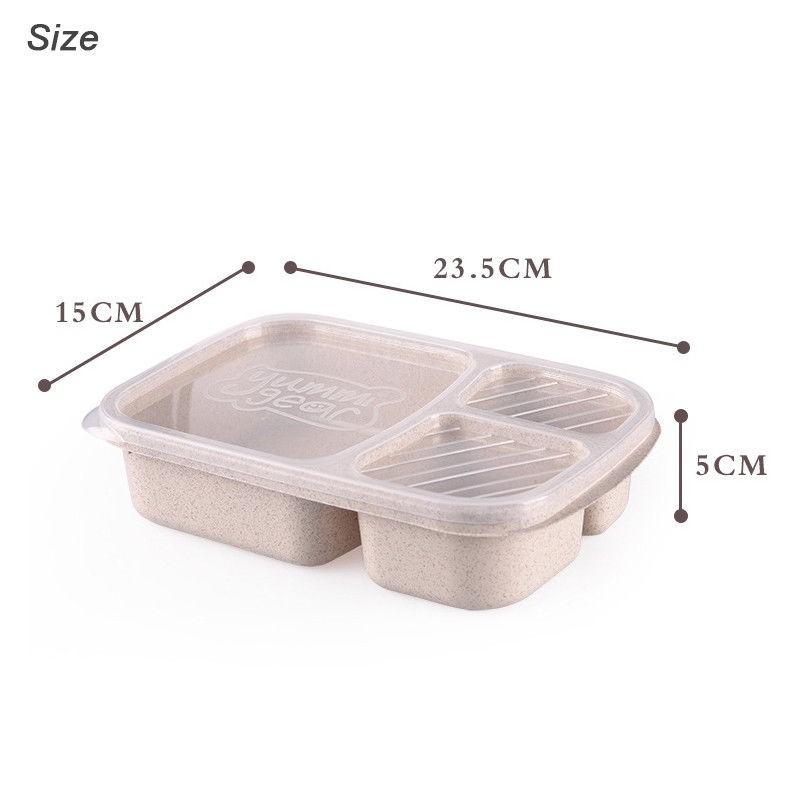 Microwave Bento Lunch Box Picnic Food