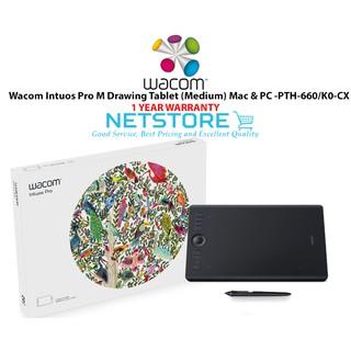 Wacom Intuos Pro Medium PTH-660 K0/CX | Shopee Malaysia