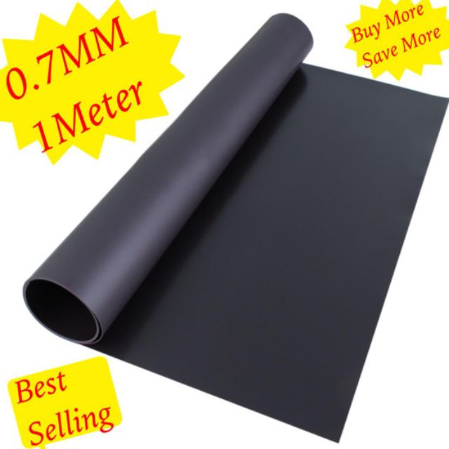3 x A4 Self Adhesive Magnetic Sheets 0.7mm Thick