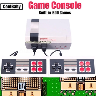 ✨Ready Stock✨620 Games in 1 Classic Retro TV Gamepads Mini Game Console  with 2 Controllers