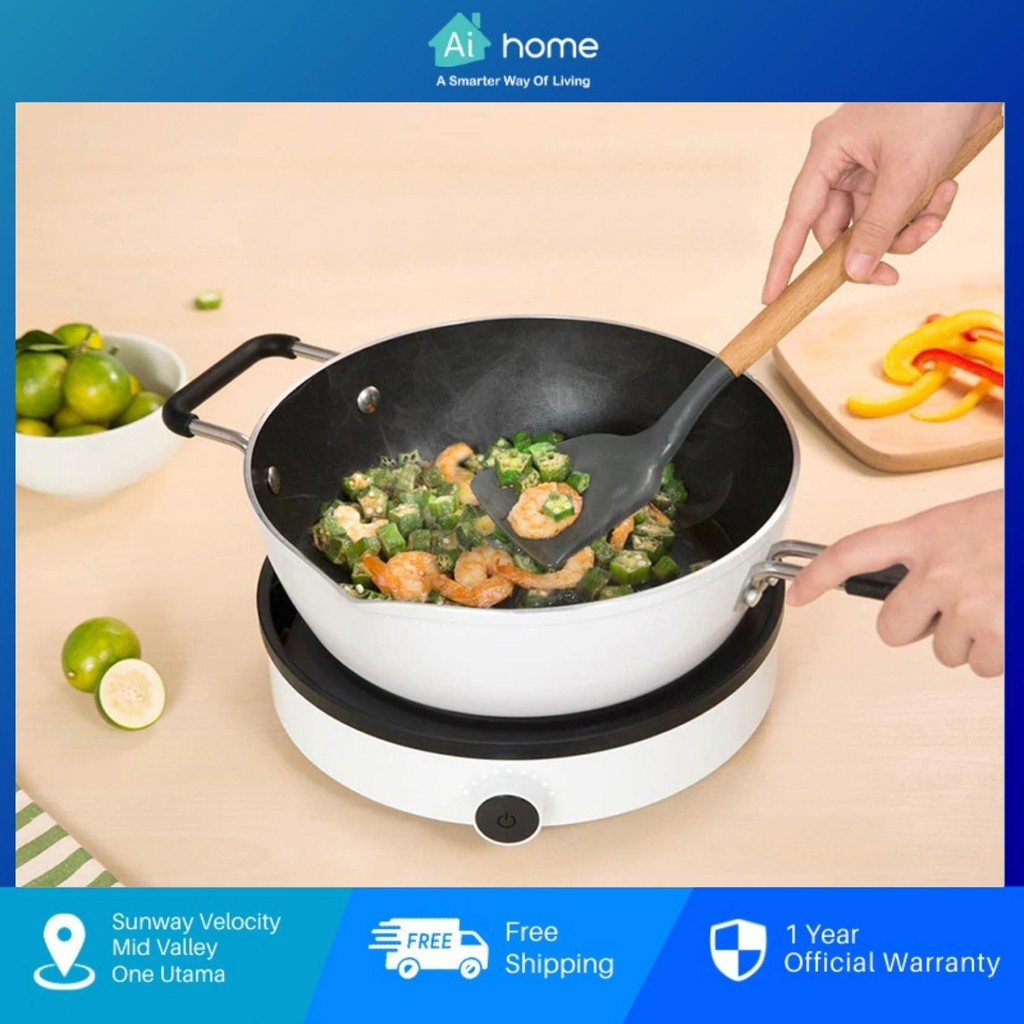 ZhiWu Non-stick Saute Pan Wok - Cooking Induction Cooker Pot GJC03CM (26cm)   Heat Quickly and Evenly [ Aihome ]