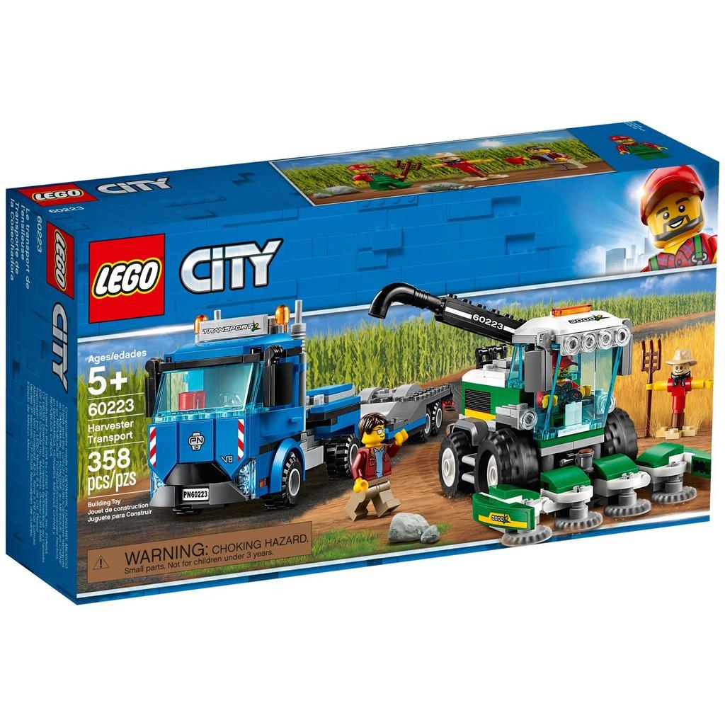 City 60223 City Lego 60223 Transport Transport City Harvester Lego Lego Harvester O8ymn0wvN