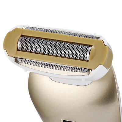 ENZO EN - 077A Female Hair Remover Rechargeable Beauty Trimmer Epilator (WHITE)