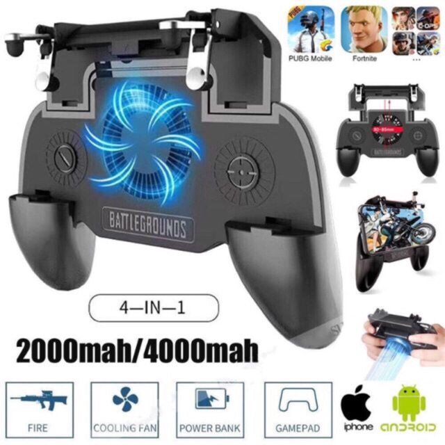 PUBG controller mobile Game Trigger Button Handle Grip Shooter controller-SR