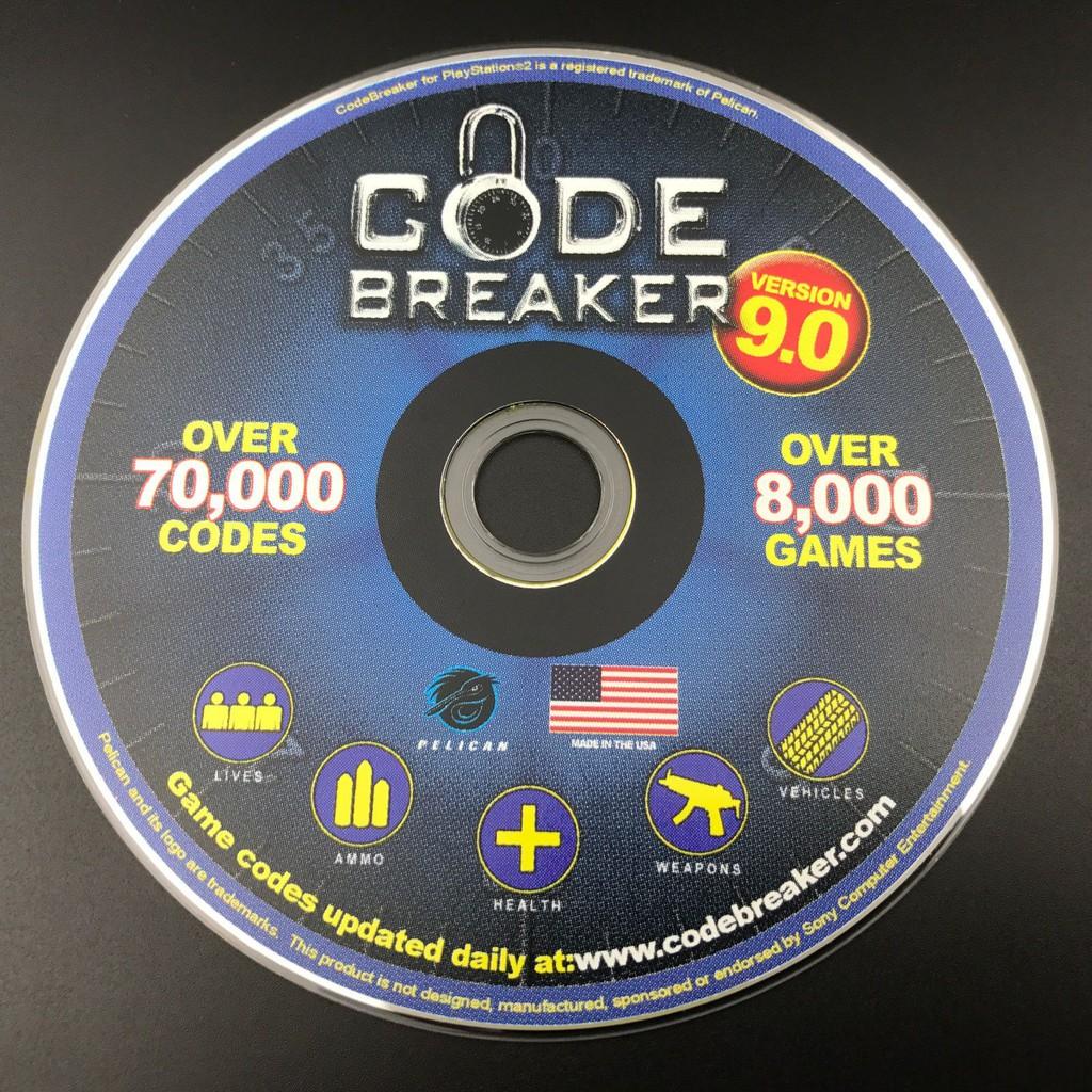 PS2 Code breaker (cheat codes)