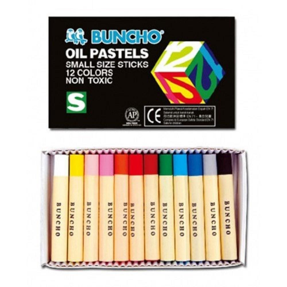 Buncho Oil Pastel 12 / 16 / 24 / 36 / 48 Colour / Crayon Color / Warna Krayon