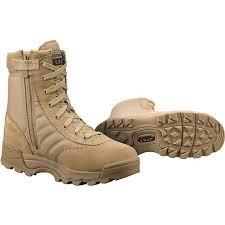 "Original SWAT Classic 9"" Side Zip Boot (Tan Color), 1 Year Warranty - READY STOCK"