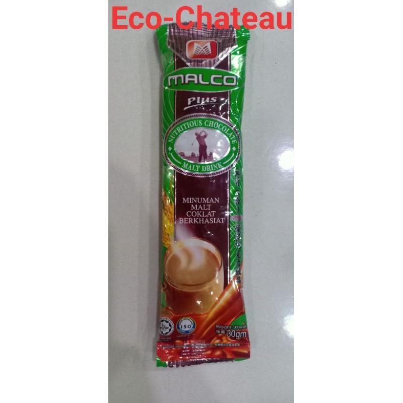 MALCO 100 Premium Coffee / Tea / Chocolate from IPOH (1 Sachet) - HALAL