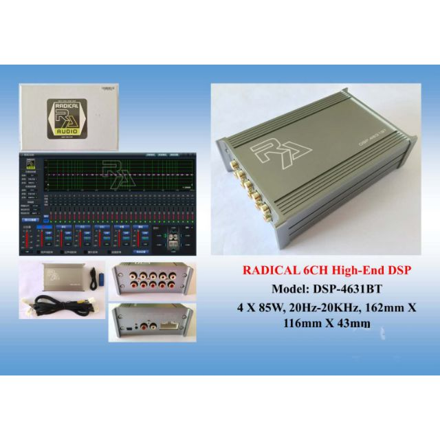 Radical Audio dsp 31band