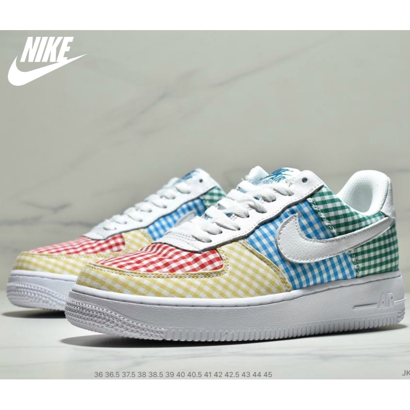 Nike Air Force 07 Air Force One Color Gloves Sneakers