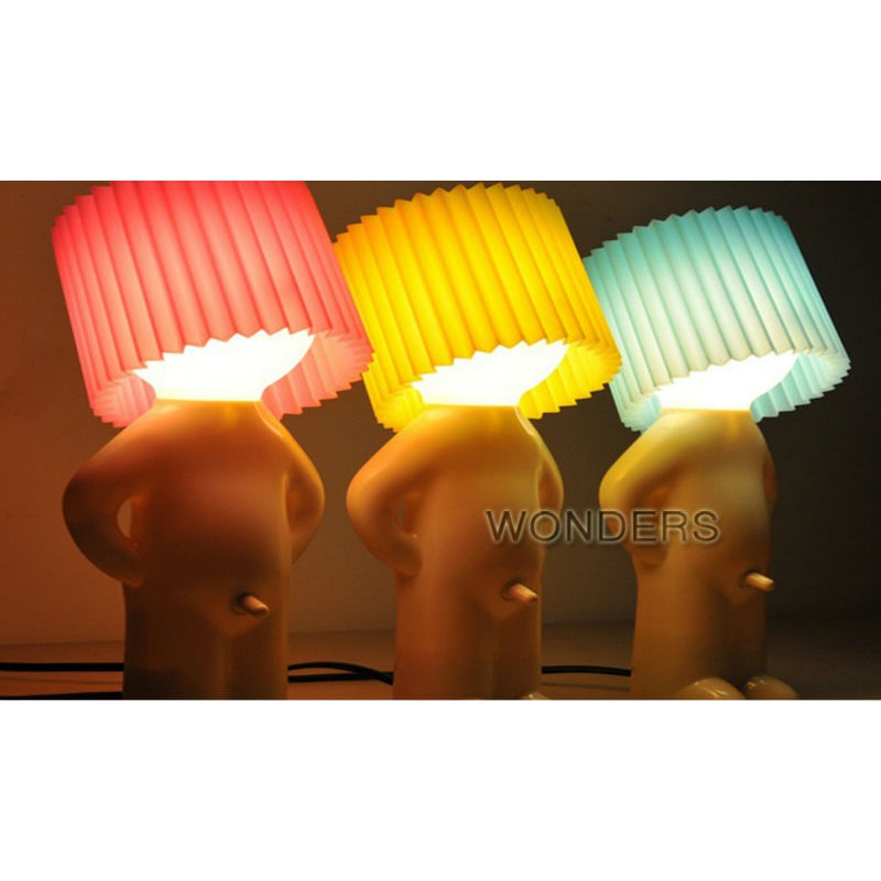 Naughty Boy A Little Shy Man Creative Lamp Small Night Lights Night Lights Home