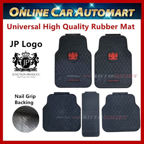 Universal High Quality Rubber Spike Nail Backing With JP Logo Car Floor Mat