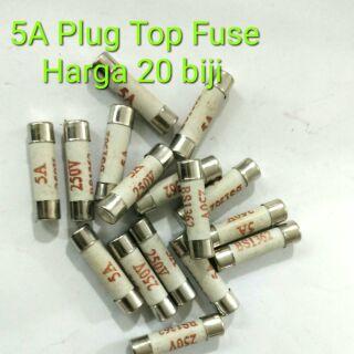 10pcs Fuse - 3A / 5A / 10A / 13A / 15A | Shopee Malaysia