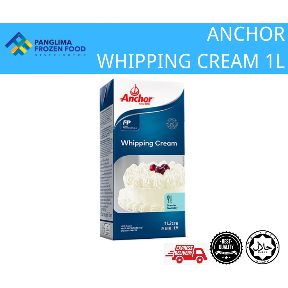 ANCHOR WHIPPING CREAM (1L) [KLANG VALLEY ONLY]