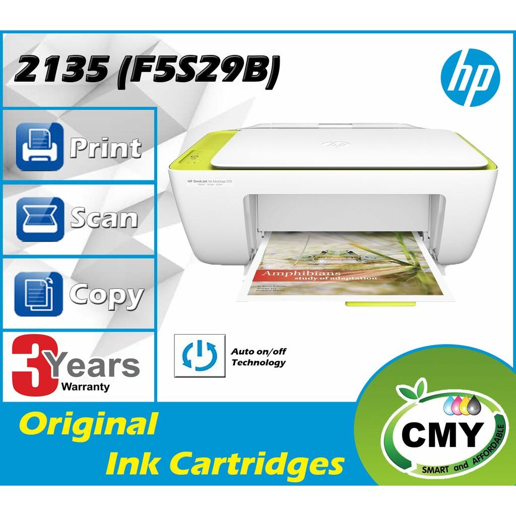 Canon PIXMA E410 / HP 2135 / HP 2336 3 In 1 (Print / Scan / Copy) Inkjet Printer