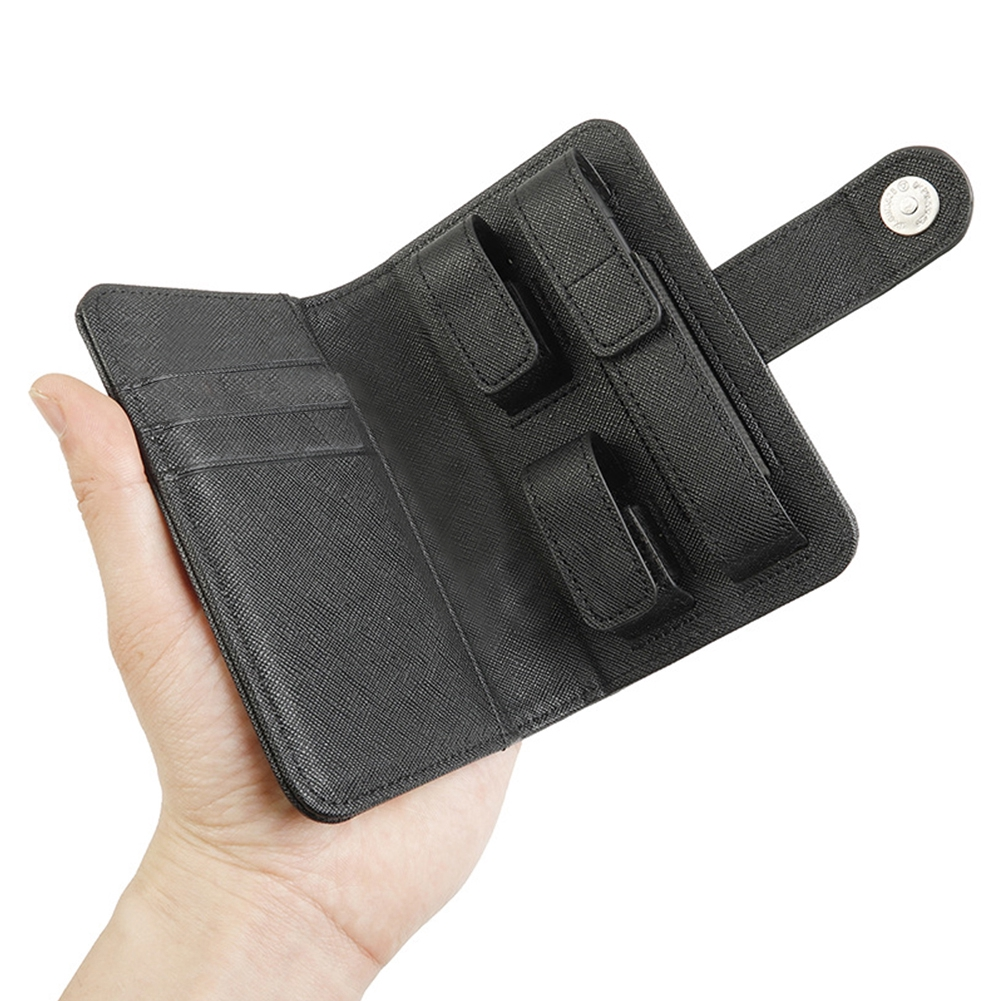 Carrying Portable Anti Scratch Heavy Flap Leather Universal Protective Cover Durable Travel For JUUL