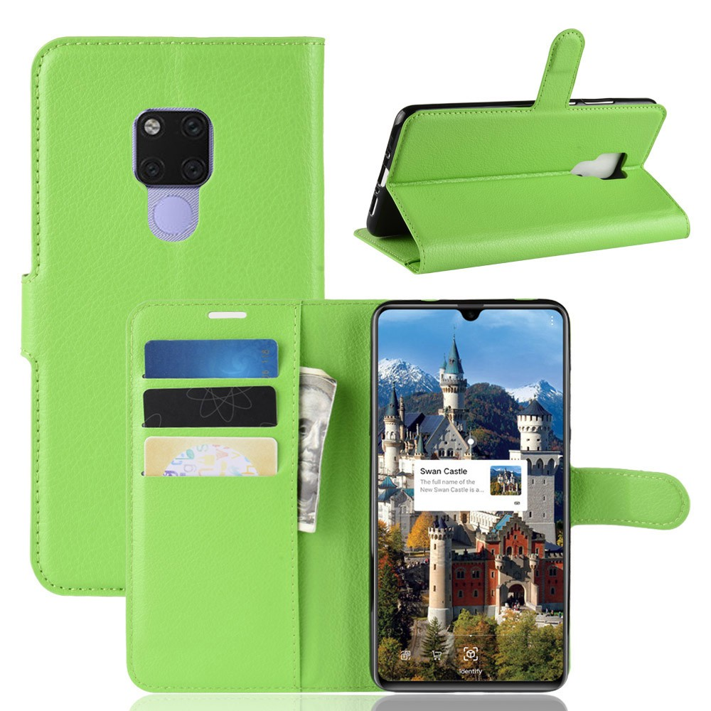 Huawei Mate 20 X / Mate 20X เคส  Case Wallet Magnetic PU Leather Stand Cover With Card H