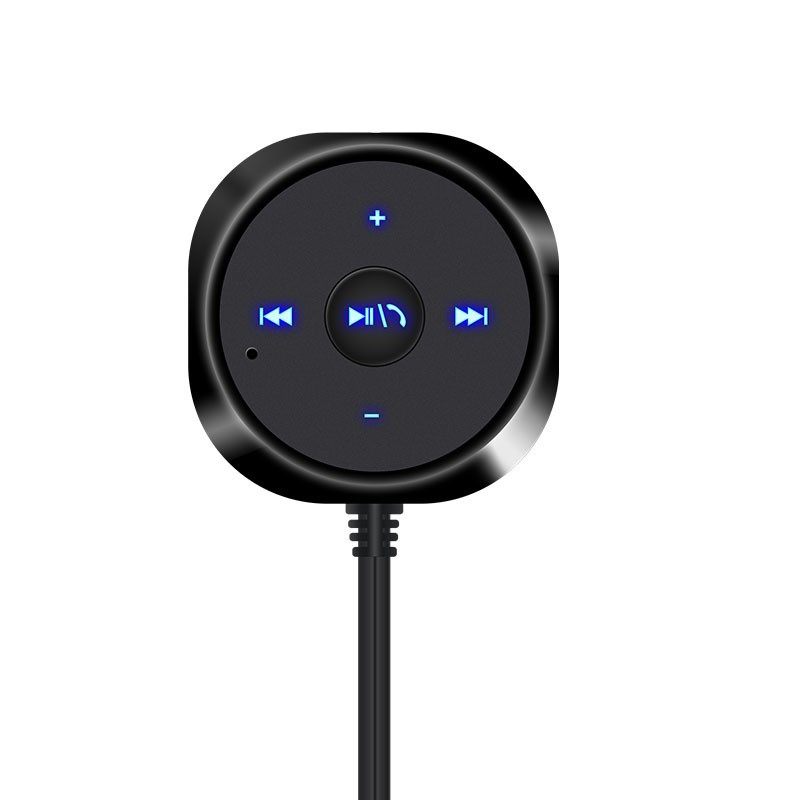 harupink 3.5mm Wireless Bluetooth Car AUX Adapter USB Charger Audio Music