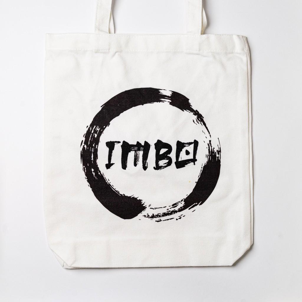 IMBO 1st Edition Eco Friendly Tote Bag Art Canvas Bag Recycle Bag Shoulder Bag 棉布帆布包环保袋