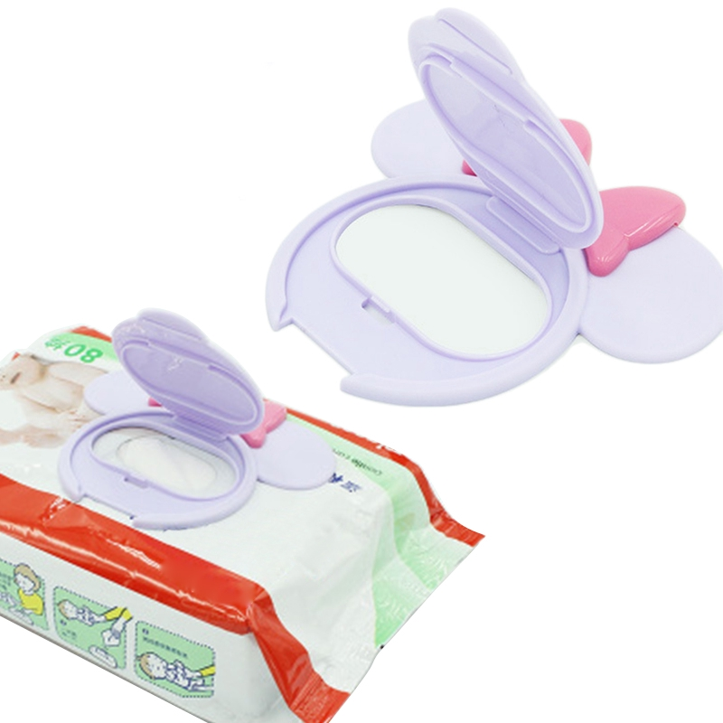 Dasing 10Pcs Reusable Baby Wipes Lid Baby Wet Wipes Cover Tissues Box Wet Paper Lid