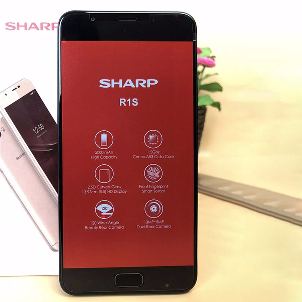 SHARP R1S FS8028 5 5 Inch Smartphone Octa Core 3GB RAM 32GB ROM Global  Version