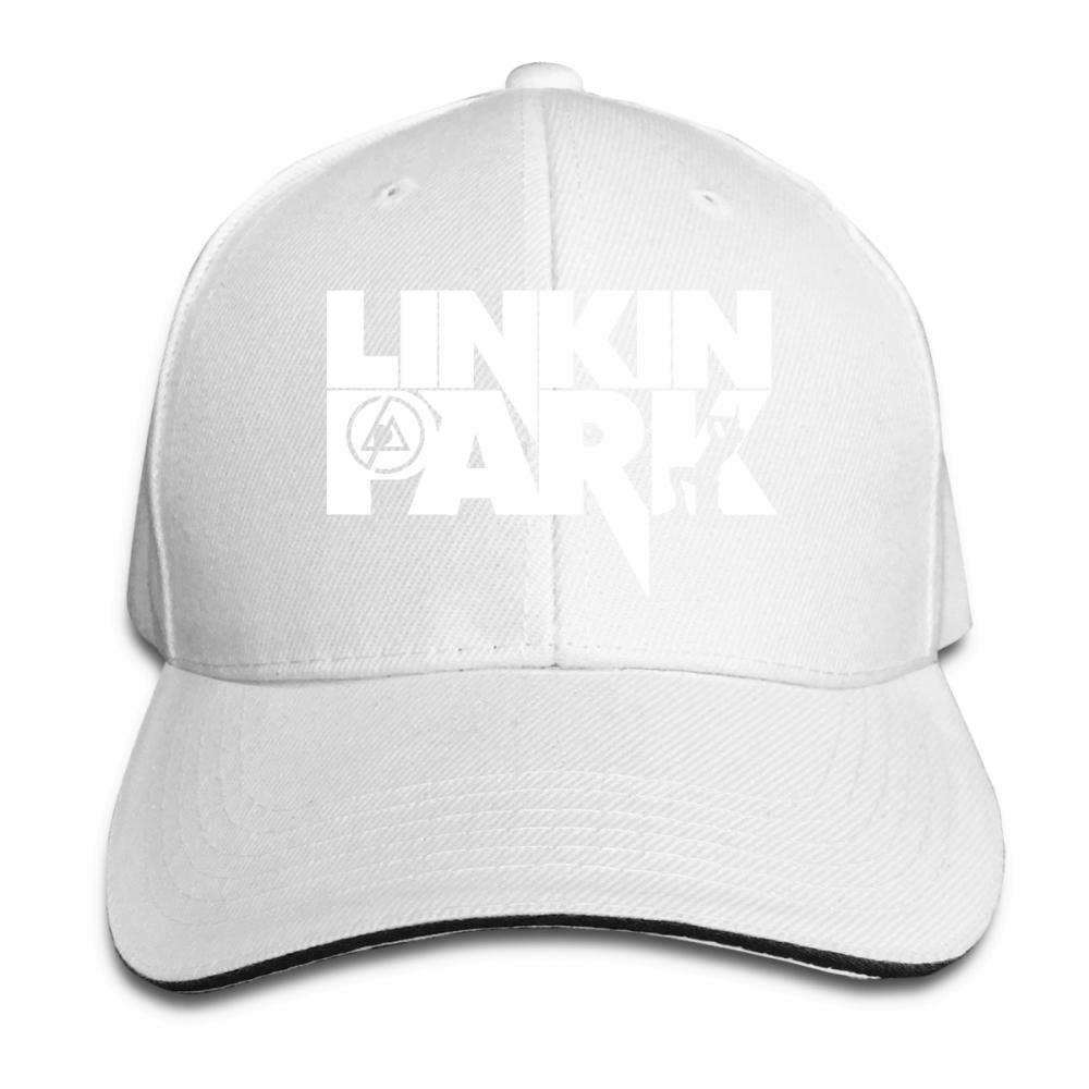 569a61960 Chester Bennington Linkin Park Logo Adult Sports Baseball Hat ...