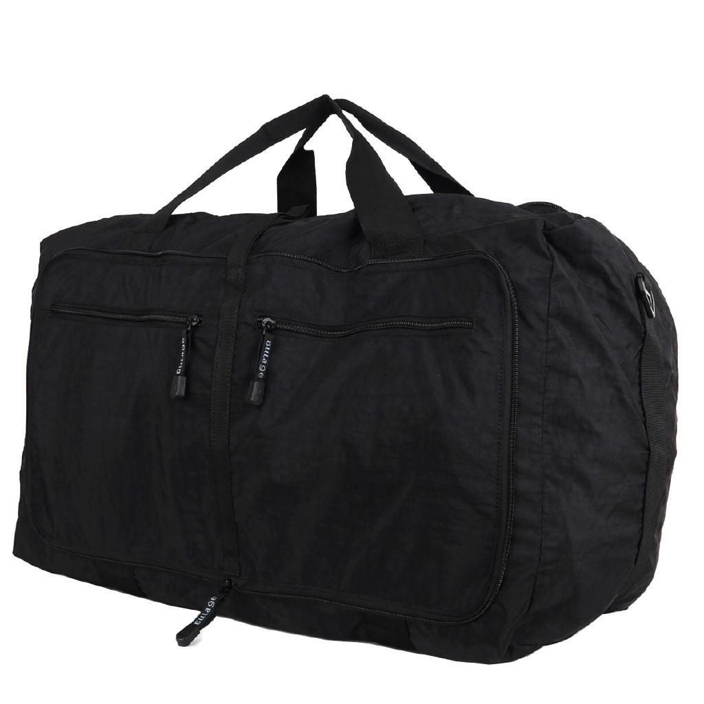 f546b2849fa4 Waterproof nylon folding Travel abroad large light capacity storage bag