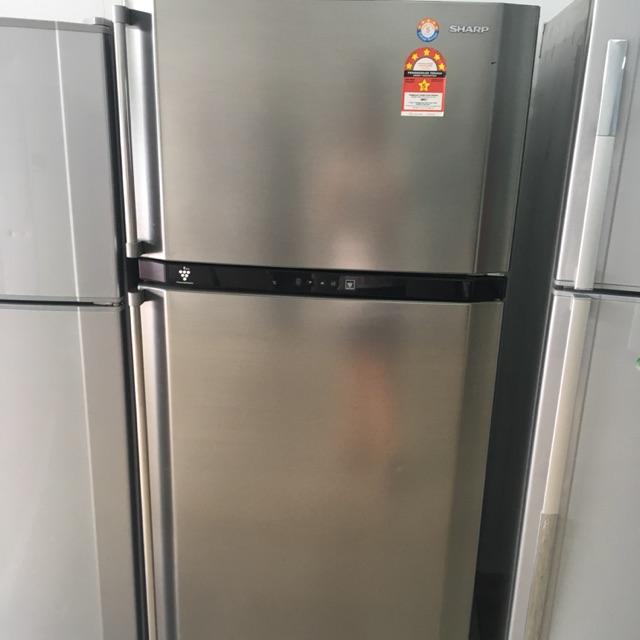 Sharp 2door Fridge Refrigerator Peti