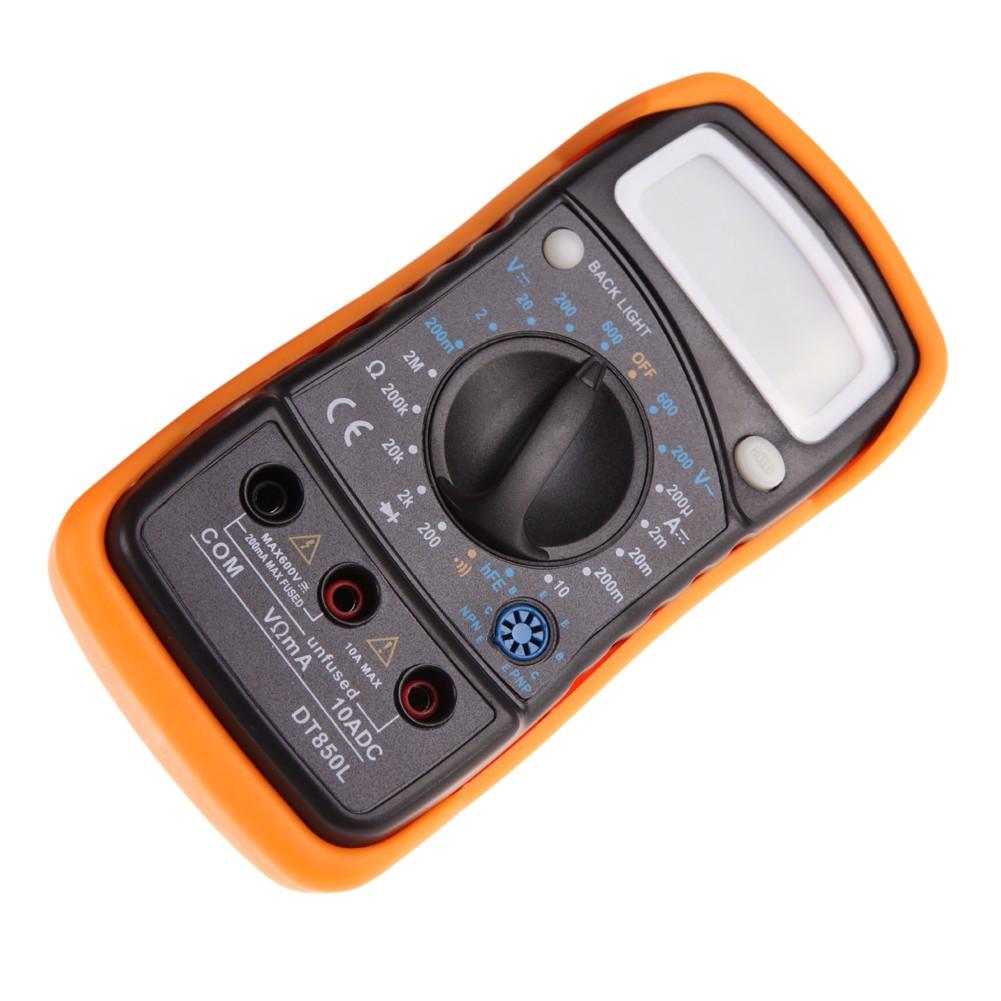 Digital Lcd Multimeter Xl830l Ac Dc Voltmeter Ammeter Ohm Circuit Checker Tester Shopee Malaysia
