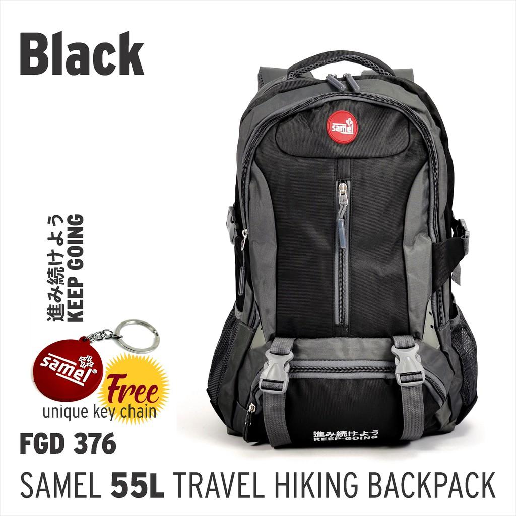 FGD 376 TRAVEL HIKING BACKPACK 55 LITRE