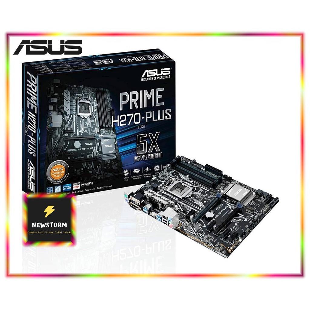 ASUS Motherboard INTEL Socket1151 PRIME H270-PLUS