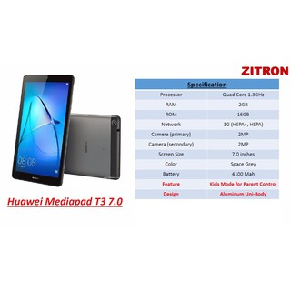 low priced fc4ce a72c5 Huawei Mediapad T3 7