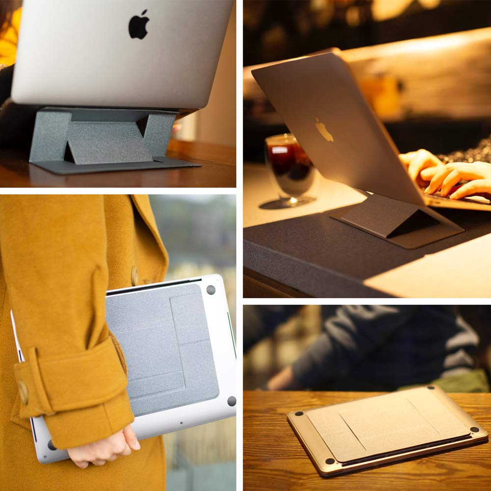 Adjustable Laptop Stand Portable folding NEW Universal Invisible For  Notebook Macbook Lenovo Dell ASUS HP