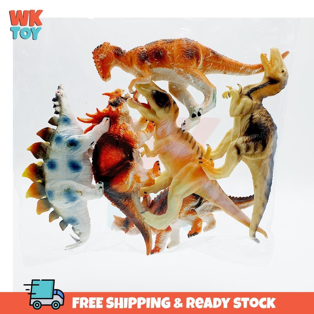 WKTOY Dinosaur Ocean Marine Life Toys for Kids Jurassic World Hidupan Laut 恐龙 海洋生物