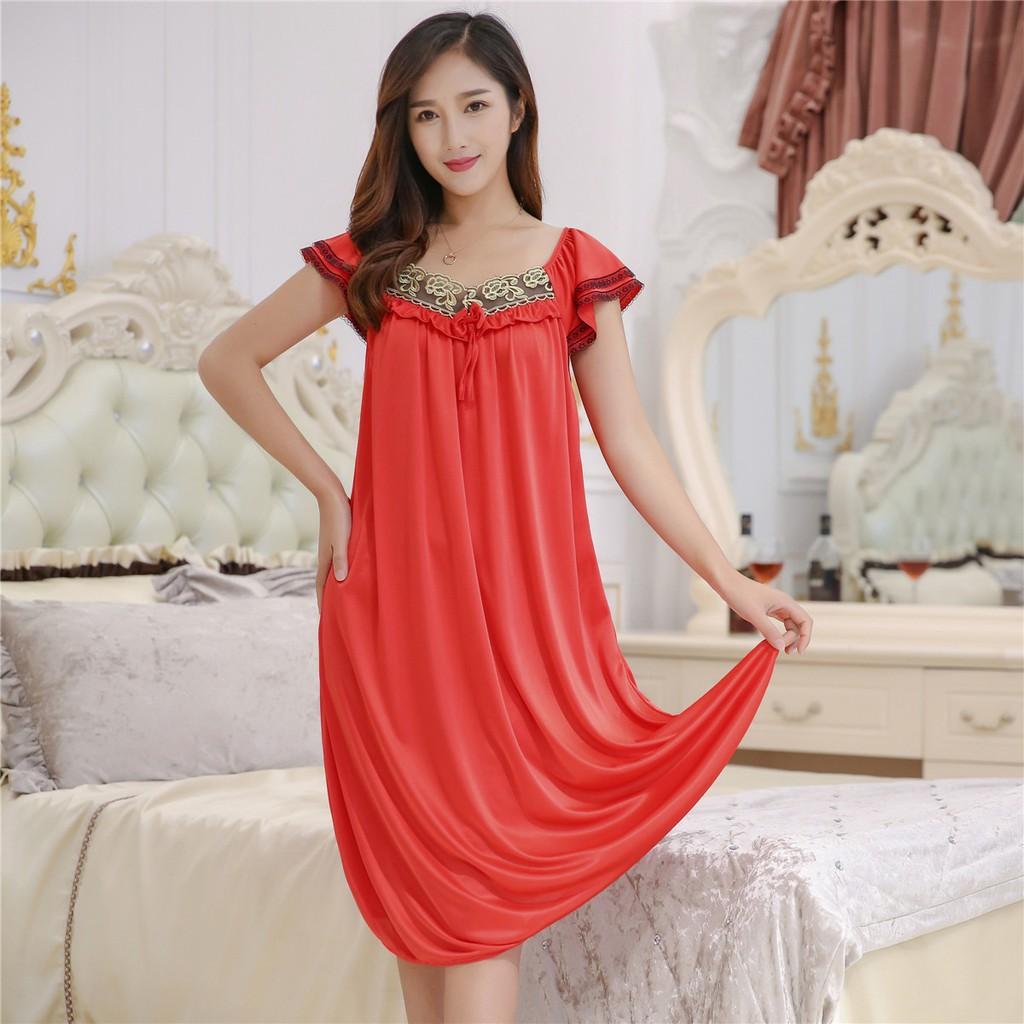75655bf11 Women Ladies Night Sleep Wear 2 Pieces (Dress + G-String)