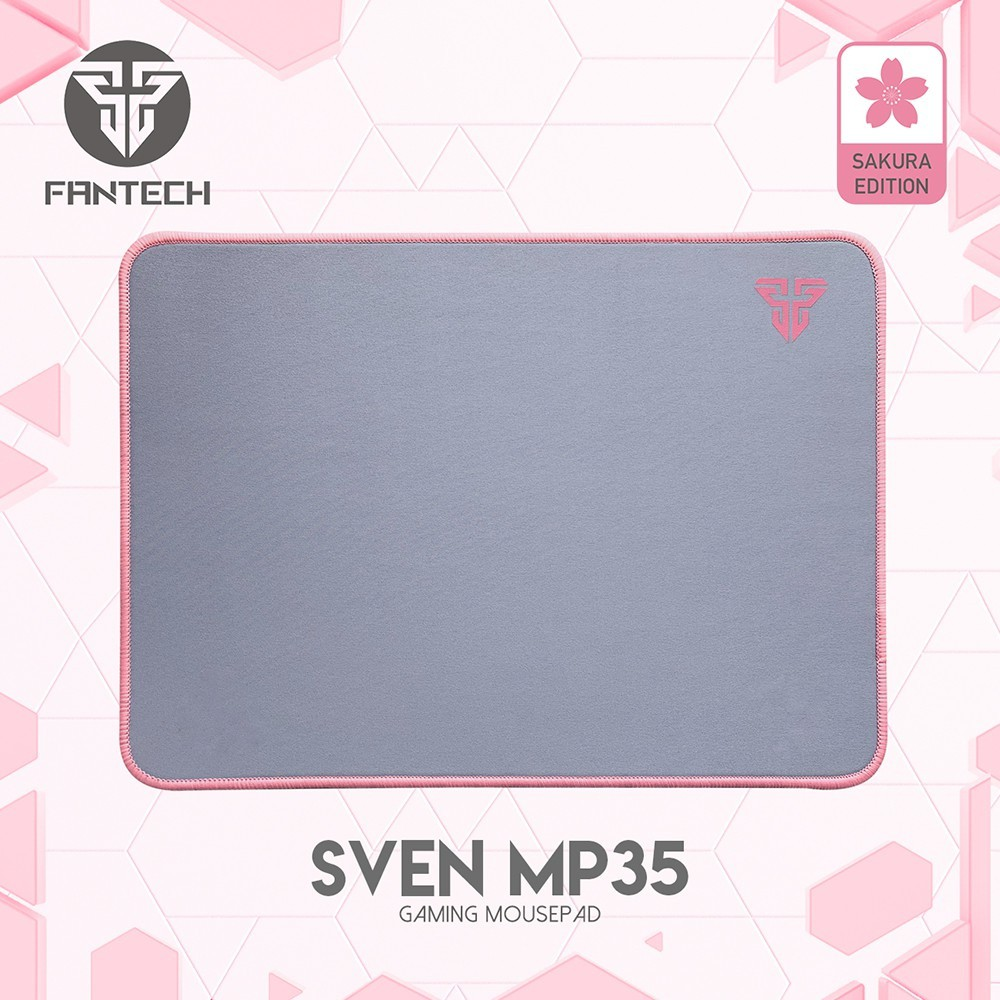 ORI Fantech SVEN Sakura Edition MP35 High Non-Slip Base Gaming Mouse Pad with Edge Sewed