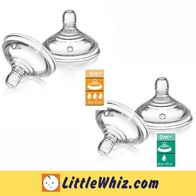 Tommee Tippee Closer To Nature - Teat - 2pcs