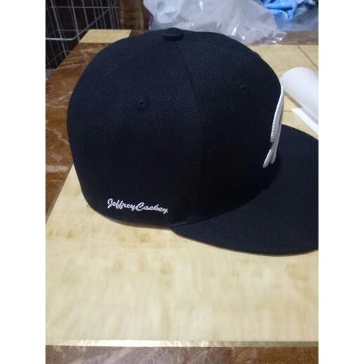 535c0917b Custom made own design snapback   Shopee Malaysia