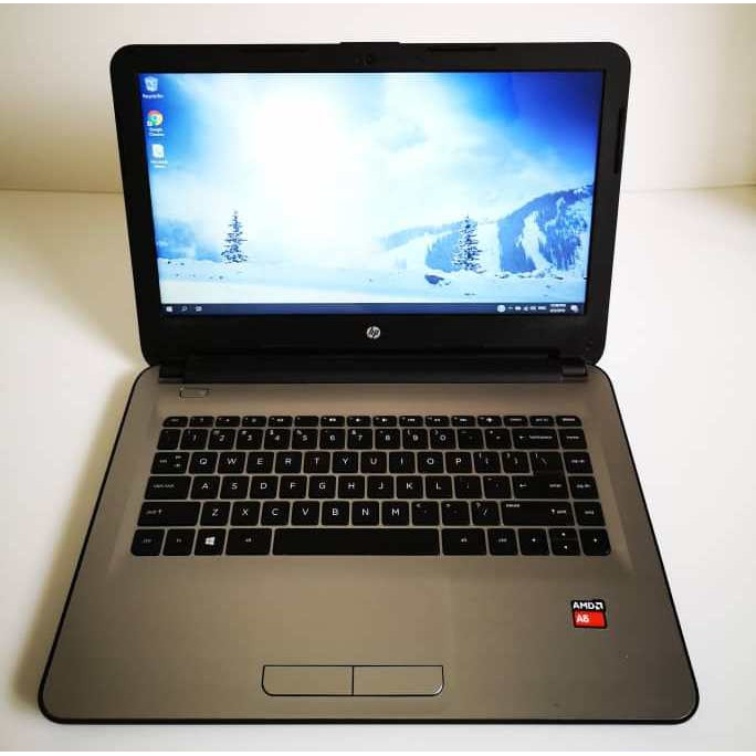 Used Hp 14 An012au 14 Hd Amd A6 7310 Amd R4 Graphic 2gb Tip Top Condition Shopee Malaysia