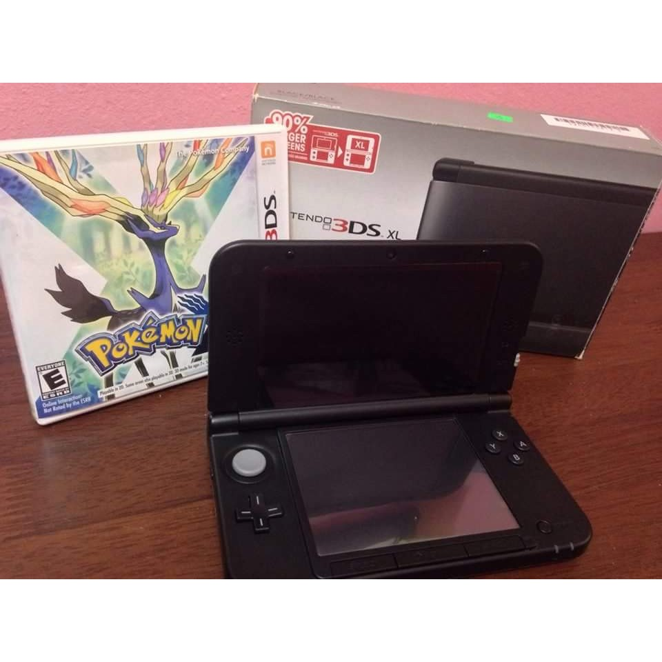 Nintendo 3ds Xl New 3 Ds Metallic Black