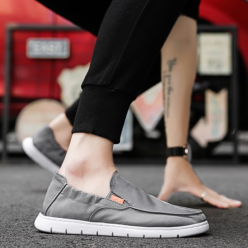 Men's Canvas Slip Shoes Beggar Shoes