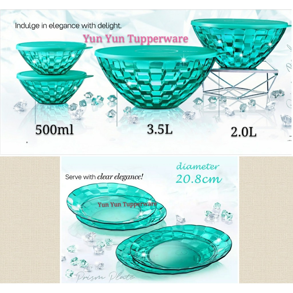 🔥HOT DEALS🔥Tupperware Prism Bowl / Plate