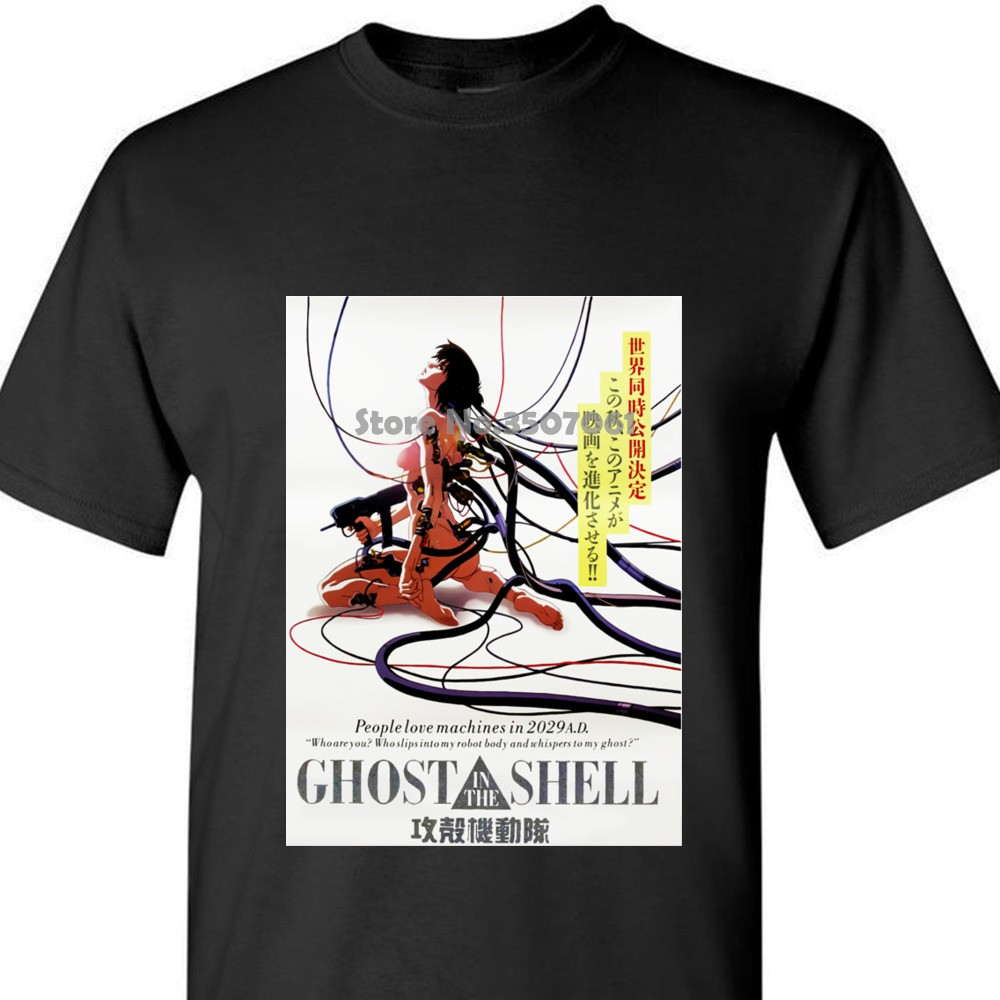 Ghost In The Shell Tshirt F10 Shirt Anime Classic Vintage Japanese Akira Long Shopee Malaysia