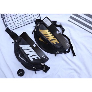 NIKE Waist Bag Waist Pouch Crossbody Bag Super Value Price Waterproof Nylon  AAA