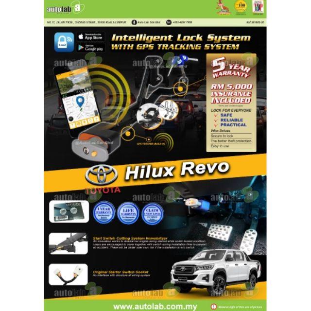 Tmaz GPS Pedal Lock Toyota Hilux Revo