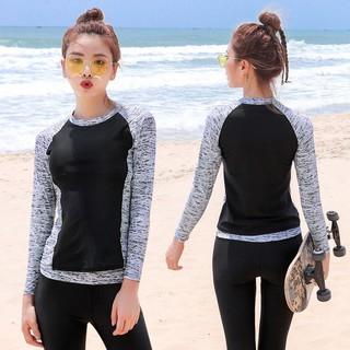 clients first world-wide free shipping buy sale Plus Size Swimming Suit Muslimah Swimsuit Long Sleeve Long Pants Women Swim  Wear