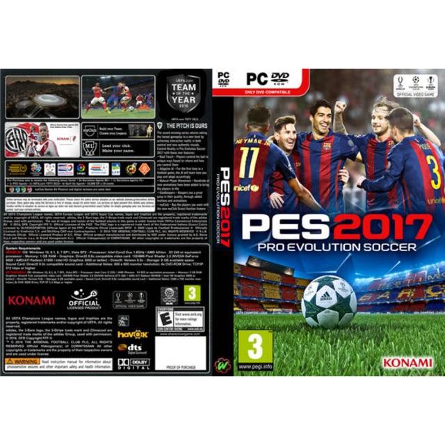 [PC Game] Pro Evolution Soccer 2017 / PES 2017 - Offline [DVD] | Shopee Malaysia
